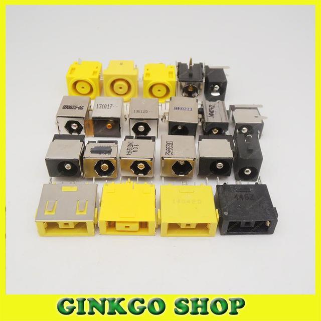 Wholesales 21Models, 21pcs Laptop DC Power Jack,DC power Socket for  Lenovo free shipping