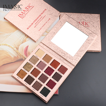 IMAGIC 16 Colors Palette  Shimmer Matte Eyeshadow Long-Lasting Waterproof Glitter Make Up Set Beauty