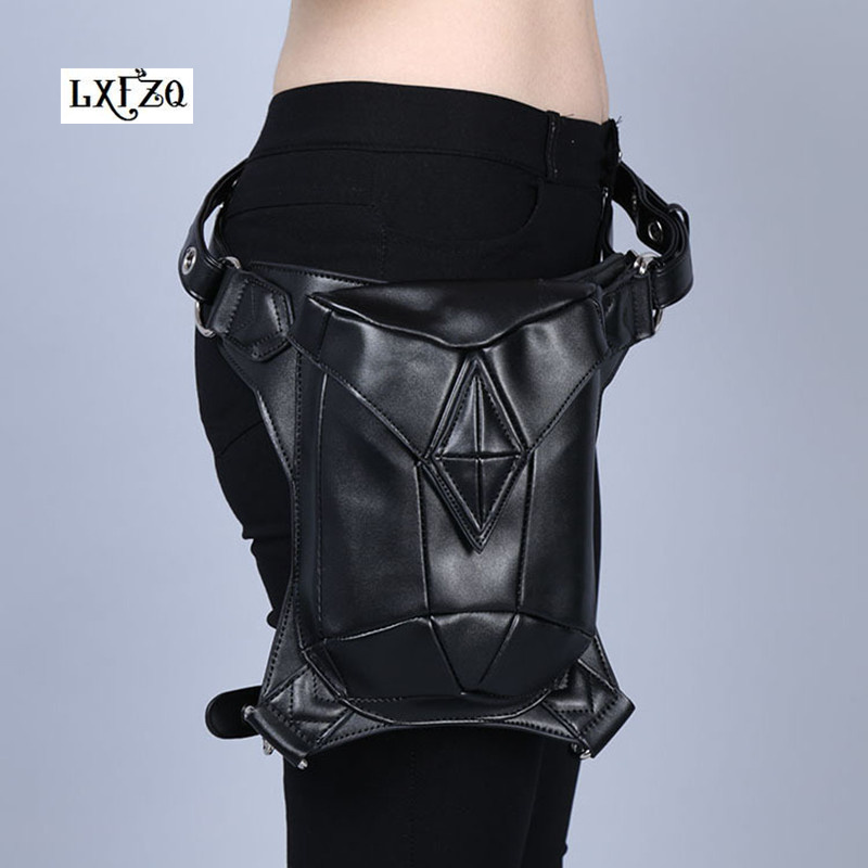Shoulder Backpack leather women bag Steampunk bag Holster Purse carteras mujer bag thigh Motor leg Outlaw Pack Pocket fanny packShoulder Backpack leather women bag Steampunk bag Holster Purse carteras mujer bag thigh Motor leg Outlaw Pack Pocket fanny pack