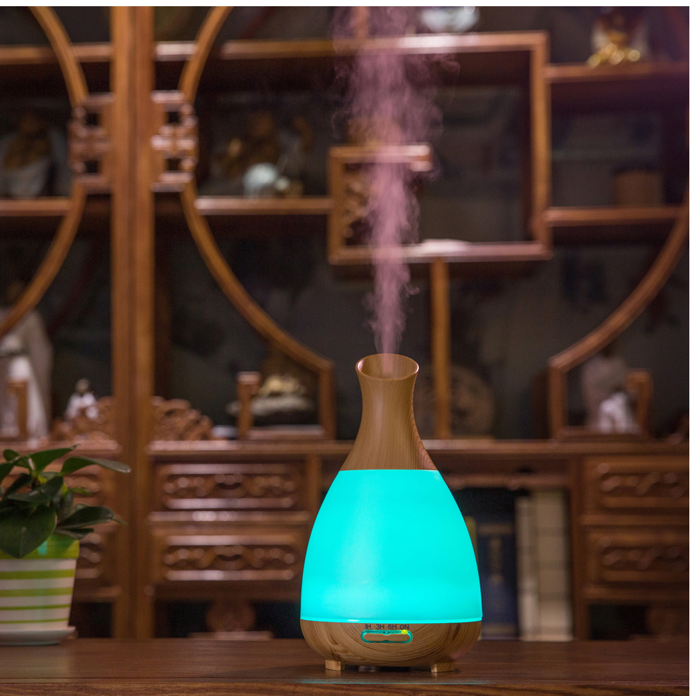 200ml Humidifier Essential Oil Diffuser Bottle Shape Aromatherapy diffuser Night Light Led Essential Aroma For home bedroom SPA