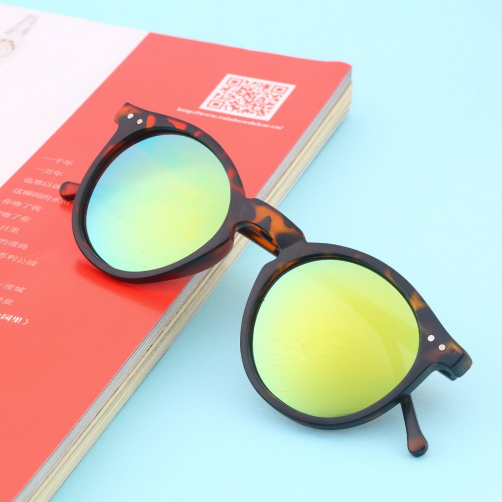 New Travel Kits Vintage Retro Unisex Mirror Lens Round Glasses Sunglasses Hiking Eyewear In Stock New HOT