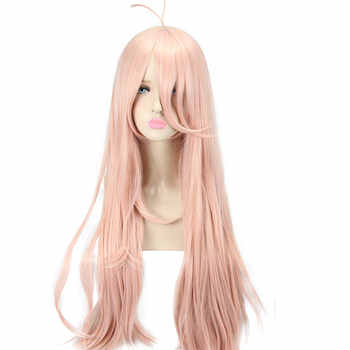 HSIU New Super DanganRonpa V3 Cosplay Wig Miu Iruma Costume Play Woman Adult Wigs Halloween Anime Game Hair free shipping - DISCOUNT ITEM  0% OFF All Category