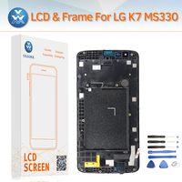 LCD Screen For LG K7 MS330 With Frame LCD Display Touch Panel Digitizer Complete Assembly Phone