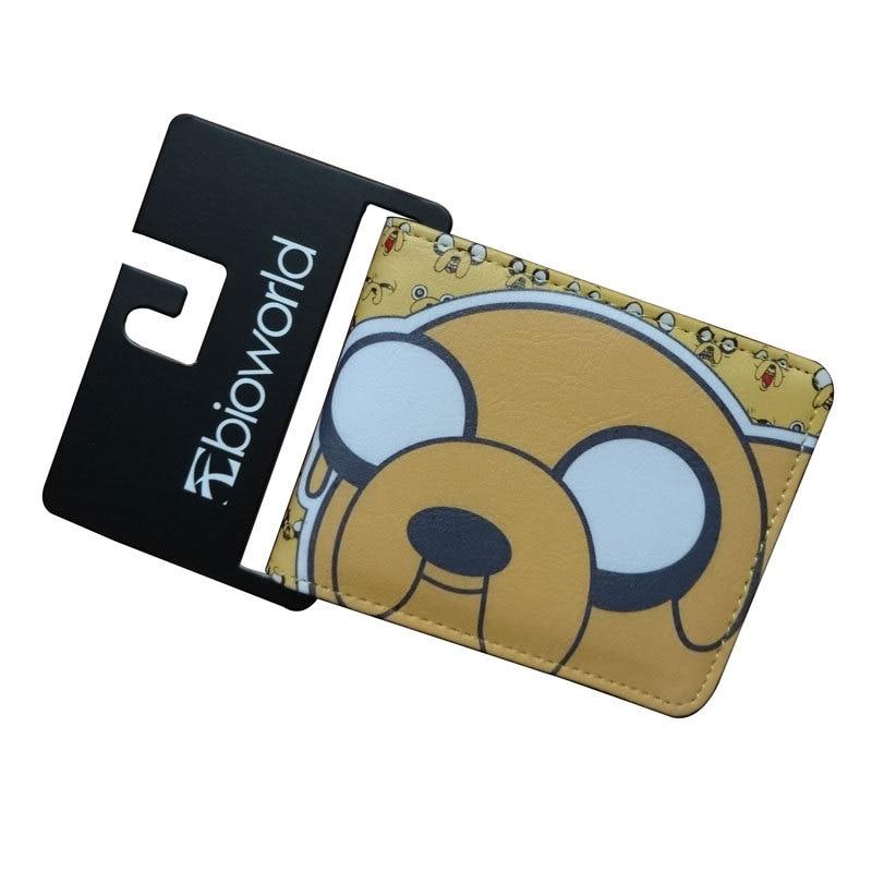 PU Wallet Purses Card Pocket Soft-Money-Bag Zipper Anime Dog-Fashion Jake Unisex 1PCS