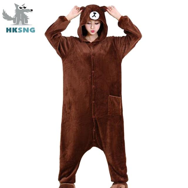 Adult bear pajamas