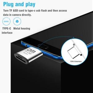 Image 4 - قارئ بطاقات نوع C لبطاقة مايكرو SD وبطاقة SD 2 في 1 USB C قارئ بطاقات CR011