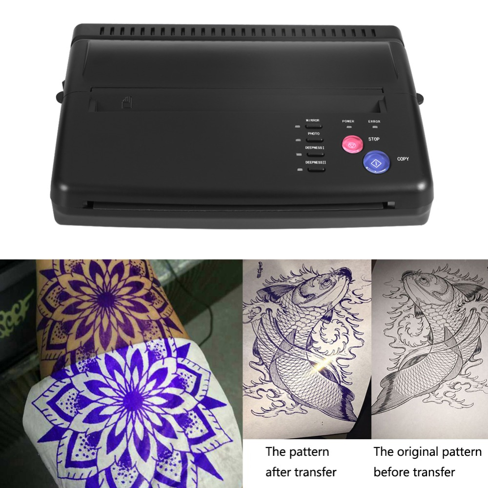 Tattoo Transfer Copier Thermal Stencil Paper A5 A4 Printer Machine Normal Tattoo Paper And Photo Tattoo