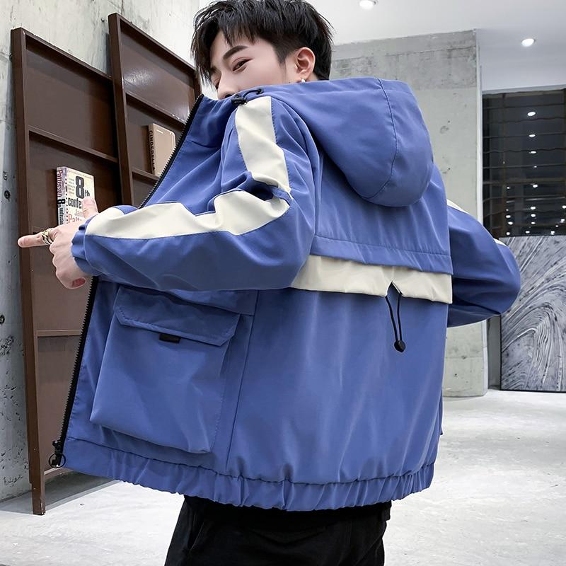 capuche hommes 2 costume d contract de 2019 printemps. Black Bedroom Furniture Sets. Home Design Ideas