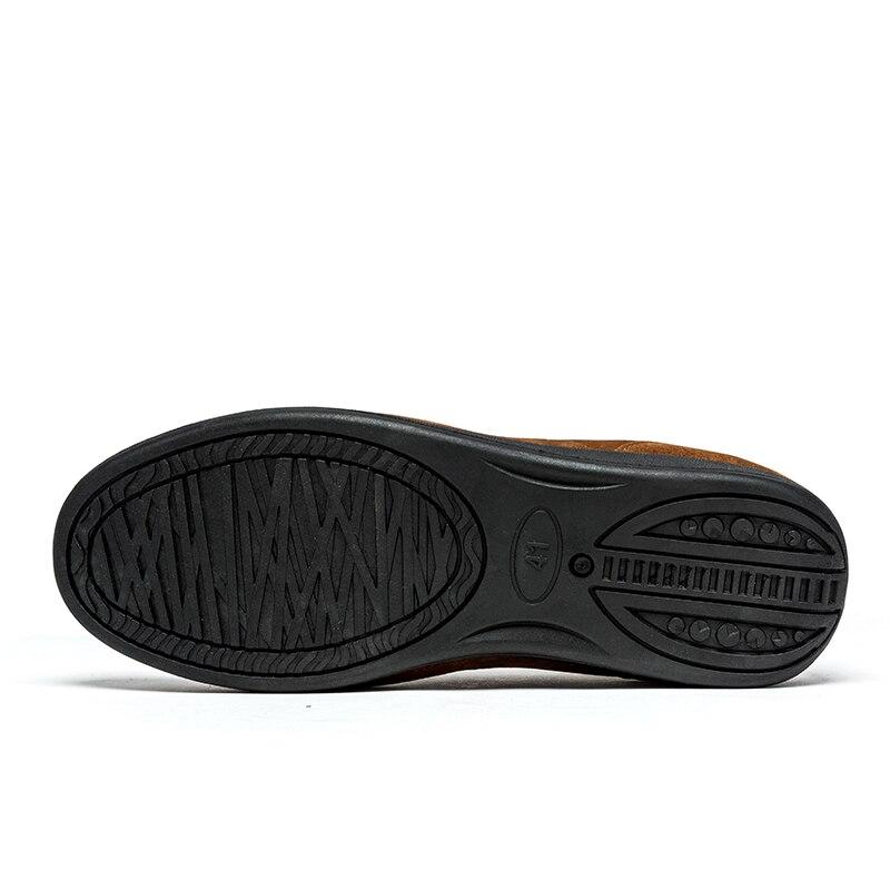 Conduite Luxe gray green Mocassins Slip De Avec Black brown Cuir Sneakers Hiver darkbrown Sur Bateau Casual Chaud Sex3 Oxford Fourrure Hommes Chaussures En D'affaires Split vSxgY