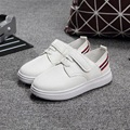 2016 New Children Shoes Leather Sports Shoes Boys Spring Fashion Casual Shoes White Black Sneakers For Boys