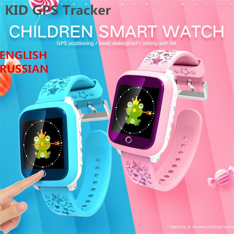 GPS Children Smart font b Watch b font DS28 GPM WiFi Locator Tracker font b Kid