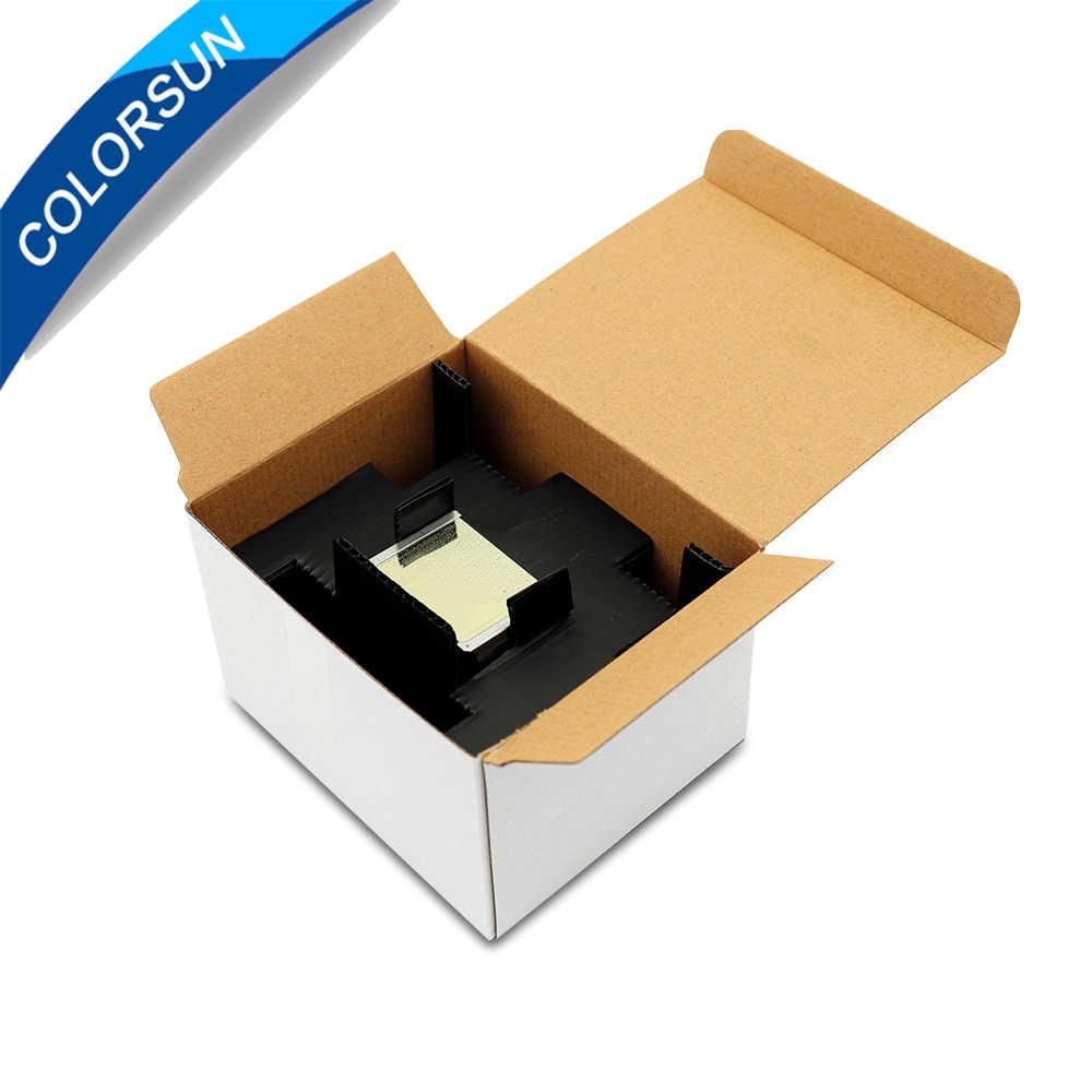 Colorsun Baru F189010 Kedua Terkunci Printhead DX7 Berbahan Print Head untuk Epson Stylus Pro B300 B310 B500 B510 B308 b508