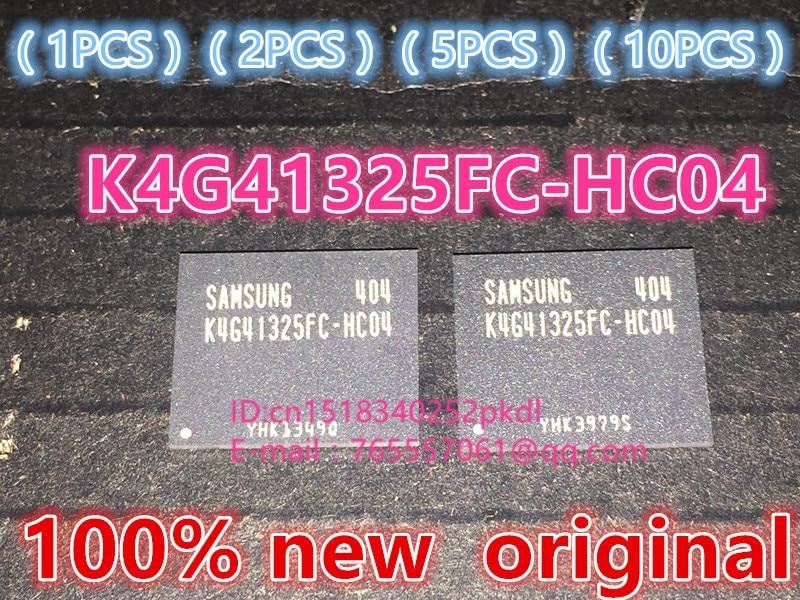 (1PCS) (2PCS) (5PCS) (10PCS) 100% New original  K4G41325FC-HC04   BGA  memory chip K4G41325FC HC04 1pcs 2pcs 5pcs 10pcs 100