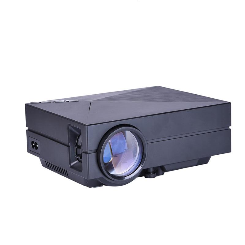 GM60 Mini Portable Home Cinema Theater LED Projector Lcd HD 1080P AV USB VGA SD mini video digital projector