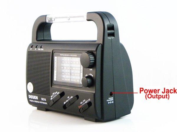 ¡ Venta caliente! Degen DE16 FM/FML MW SW Dínamo Solar de la Emergencia Radio Mundial Receptor A0901A