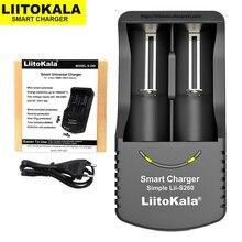 2019 Liitokala Lii S260 18650 ładowarka 3.7V akumulator litowo jonowy baterii 26650 16340 14500 18350 18500 1.2V ładowania akumulatora Ni MH
