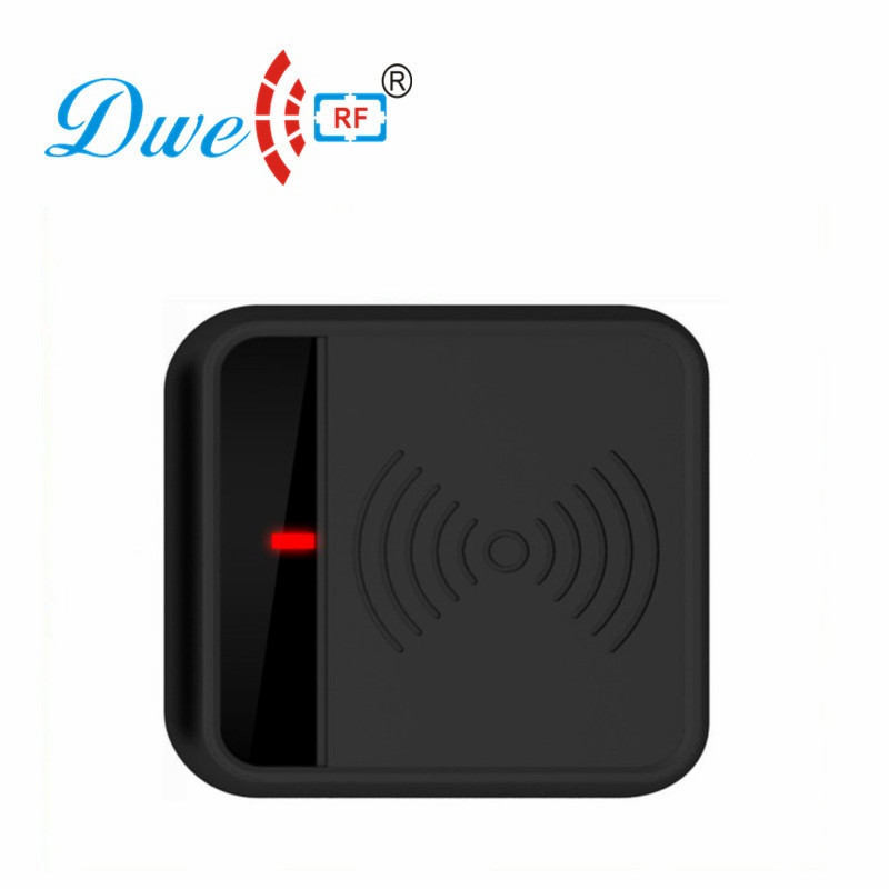 DWE CC RF  Waterproof RFID Proximity Card Reader 13.56mhz Wiegand Scanner Contactless D701A-M a2500r24c00gm rf if and rfid mr li