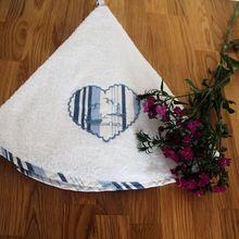 Висит протрите из мягкого плюша с круглым купальный Кухня ручной Полотенца