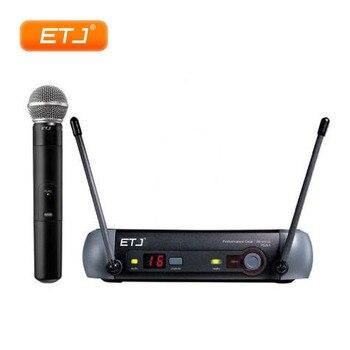 UHF Professional Wireless Microphone System PGX24/BETA58 PGX14 PGX4 PGX2 Mic For Stage Good Quality