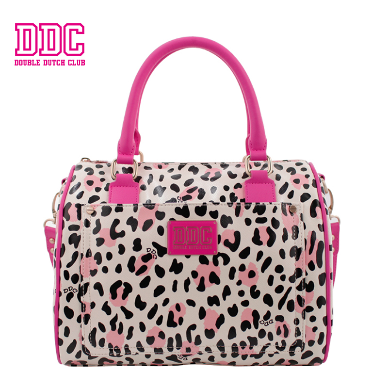 DDC Brand Handbags New Bag Female Zipper Bag Women Leather Top-handle Bag Fashion Leopard Female Shoulder Bag Soft Tote for Girl 50x152cm safety film 4mil thickness transparent security glass protective tint film for window bathroom glass shatter proof