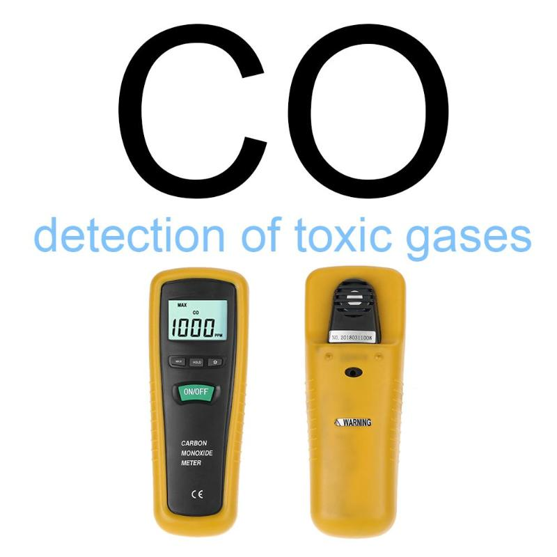 Handheld Carbon Monoxide Meter CO Gas Analyzer Tester Handy Toxic Propane Gas Detector Sensitive Combustible Gas Tester Monitor