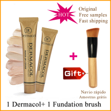 100% Original Dermacol base Make-up Cover concealer cream dermacol makeup cover tatoo  consealer dermacol make up cover 30g