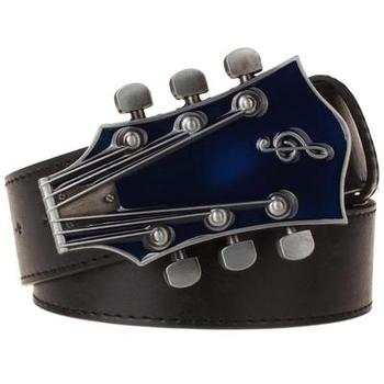 Guitar Pants Belt Band Metal Buckle Strap Accessories Rock and Roll Waistband
