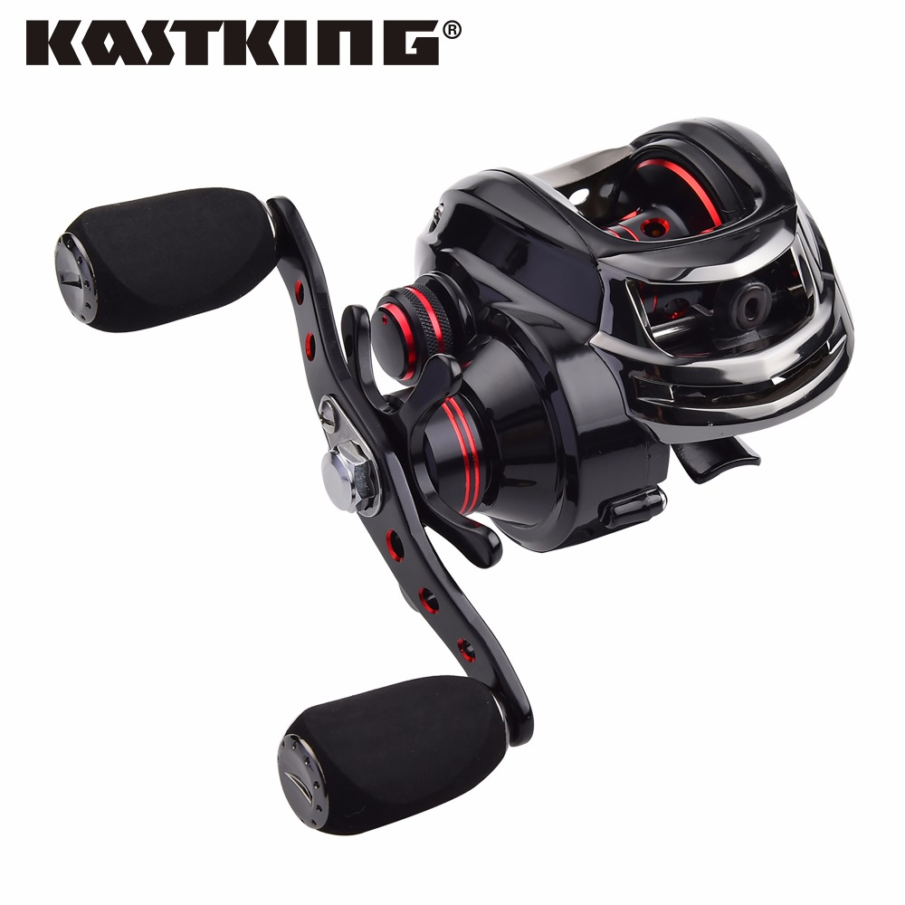 ФОТО KastKing Royale Legend Dual Brake Baitcasting Reel 12BB Max Drag 8KG Bait Casting Lure Fishing Reel Wheel