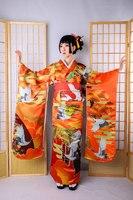 Women's Printed Kimono for Formal Kimono Performances 10 Pieces in a Set