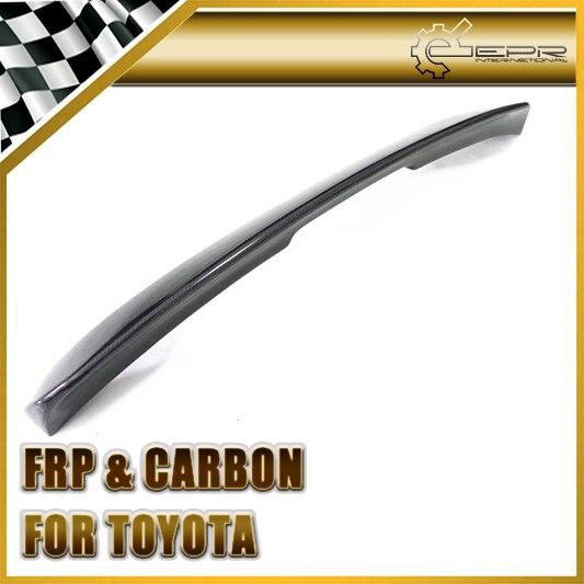 Car Styling Per Toyota Supra MK4 Fibra del Carbonio Spoiler Posteriore Trascina Ala In Magazzino