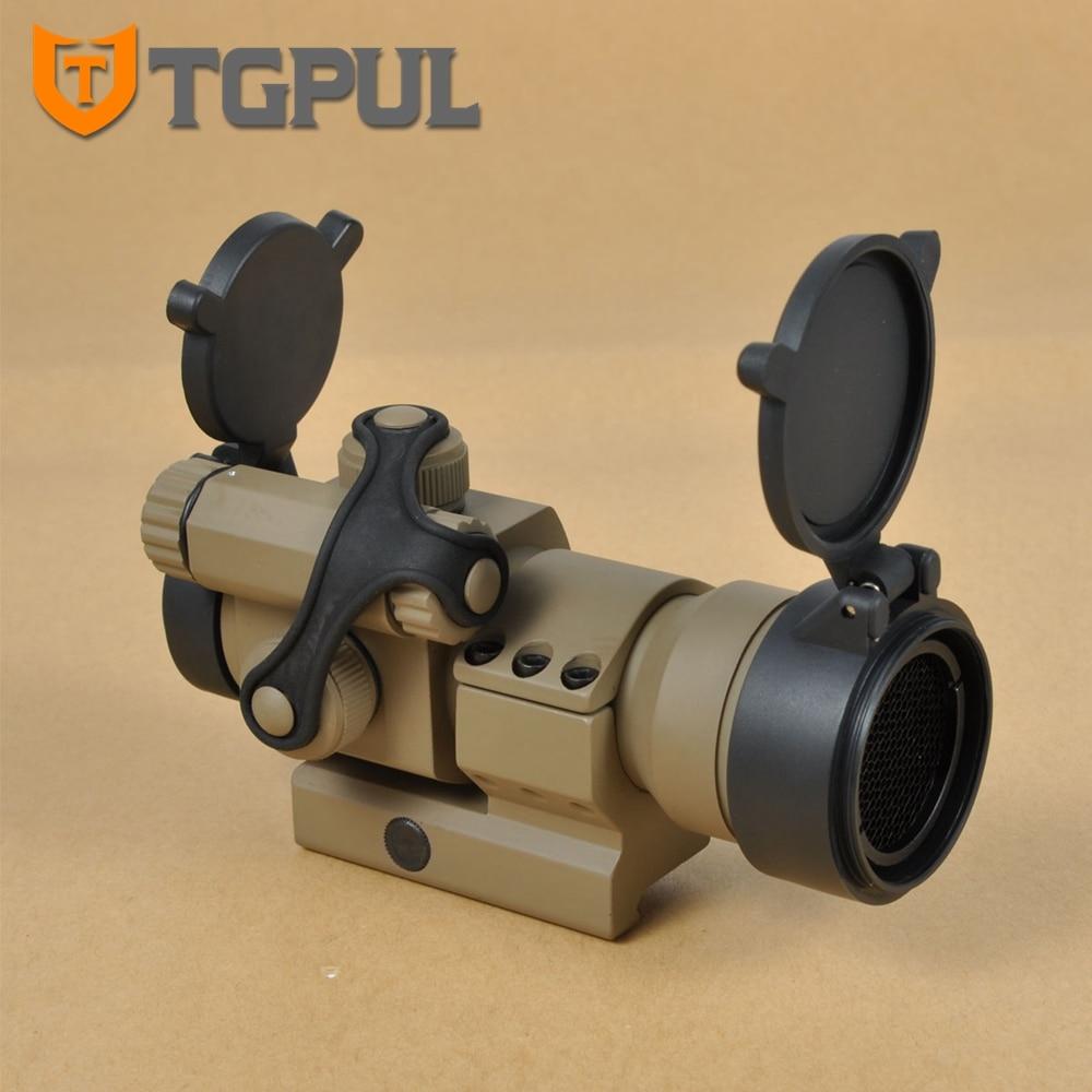 TGPUL Tactical Jagd Scopes 4 Moa Gewehr Optik Rahmen Comp M2 Red Dot ...