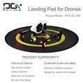 Apg rápida doble pista de aterrizaje helipuerto protectora rc drone dji phantom cardán quadcopter helicóptero partes 2 3 4 inspire 1 accesorios
