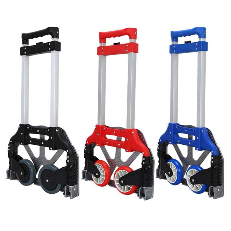 Auto accessories Portable folding luggage carts,car trolleys, Carts Dolly heavy duty aluminium alloy material,storage bag XL02