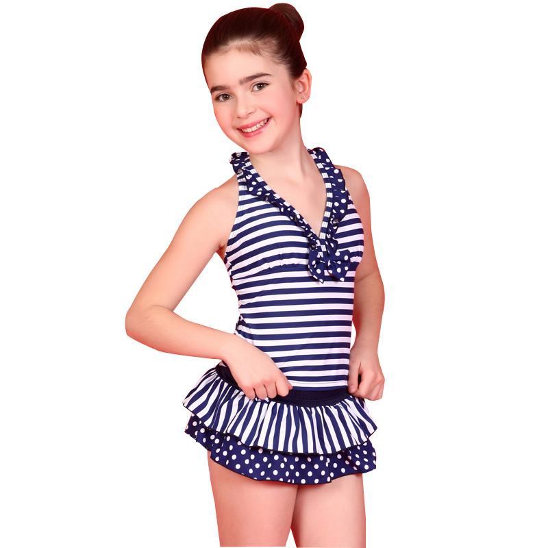 Aliexpress.com : Buy High Neck Teenager Swimsuit Two Piece ...