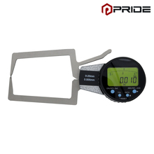 Digital Outside Caliper 0-20mm/0.005mm Electronic Gauge Measuring Bore Groove Absolute Measuring Tools