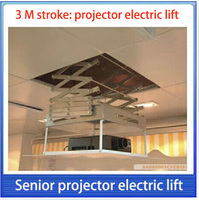 3 м Бег расстояние | проектор Электрический Лифт, электрический Проектор вешалка/Офис проектор подъем/Поддержка в системе управления