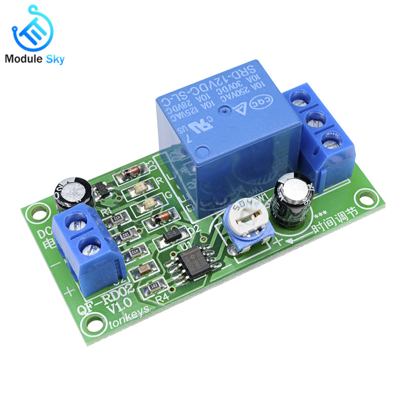 12V Relays Timer Delay Relay NE555 Shield Timing Relay Timer Control Switch Car Relays Pulse Generation Duty Cycle12V Relays Timer Delay Relay NE555 Shield Timing Relay Timer Control Switch Car Relays Pulse Generation Duty Cycle