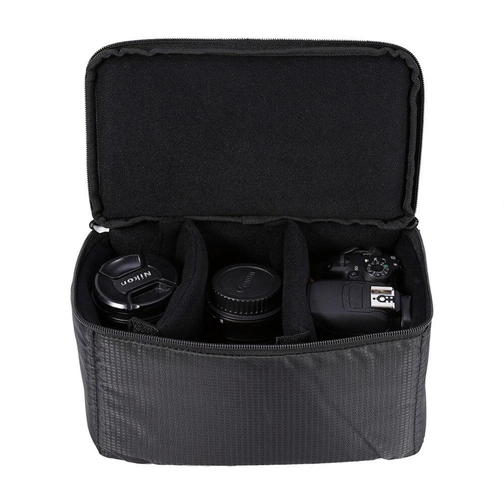 Black Dslr Partition Padded Camera Bag Insert Case Divider Waterproof Built In Insert Camera Bag Padded Camera Bag Camera Baginsert Camera Bag Aliexpress