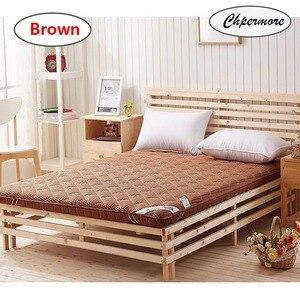 Image 2 - Chpermore влагостойкий толстый матрас, складной фирменный напольный матрас с татами для семьи, покрывала для кровати, Королевский, двойной, полноразмерный