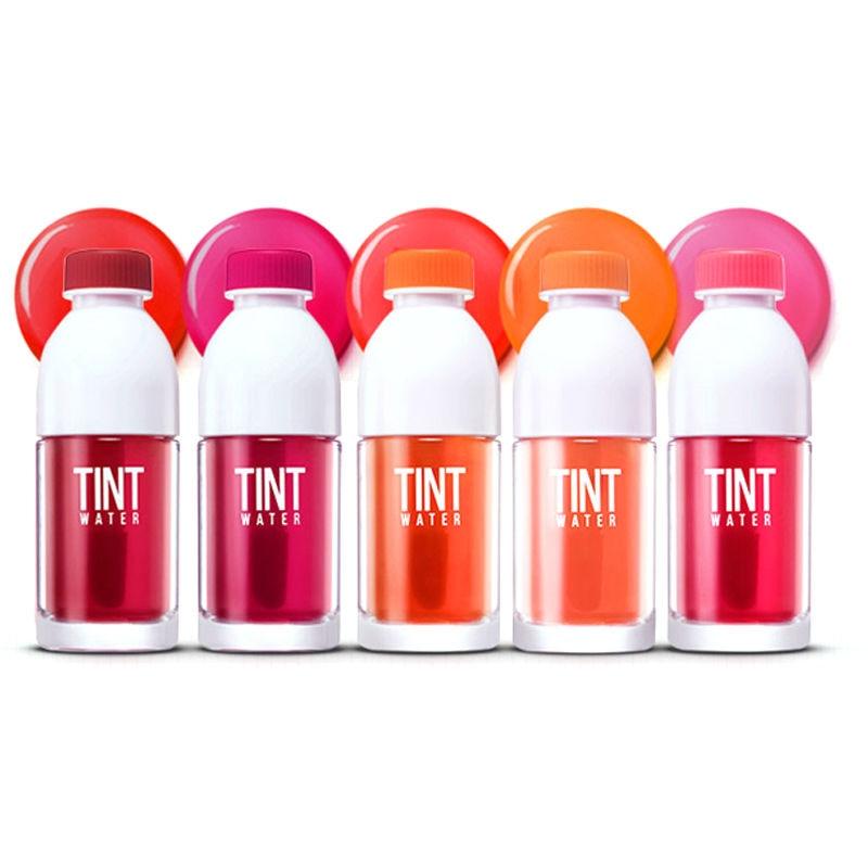 PERIPERA Tint Water 5 Color Lips Makeup Moisturizer Long Lasting Lip Gloss Matte Liquid Lipstick Waterproof Korea Cosmetic