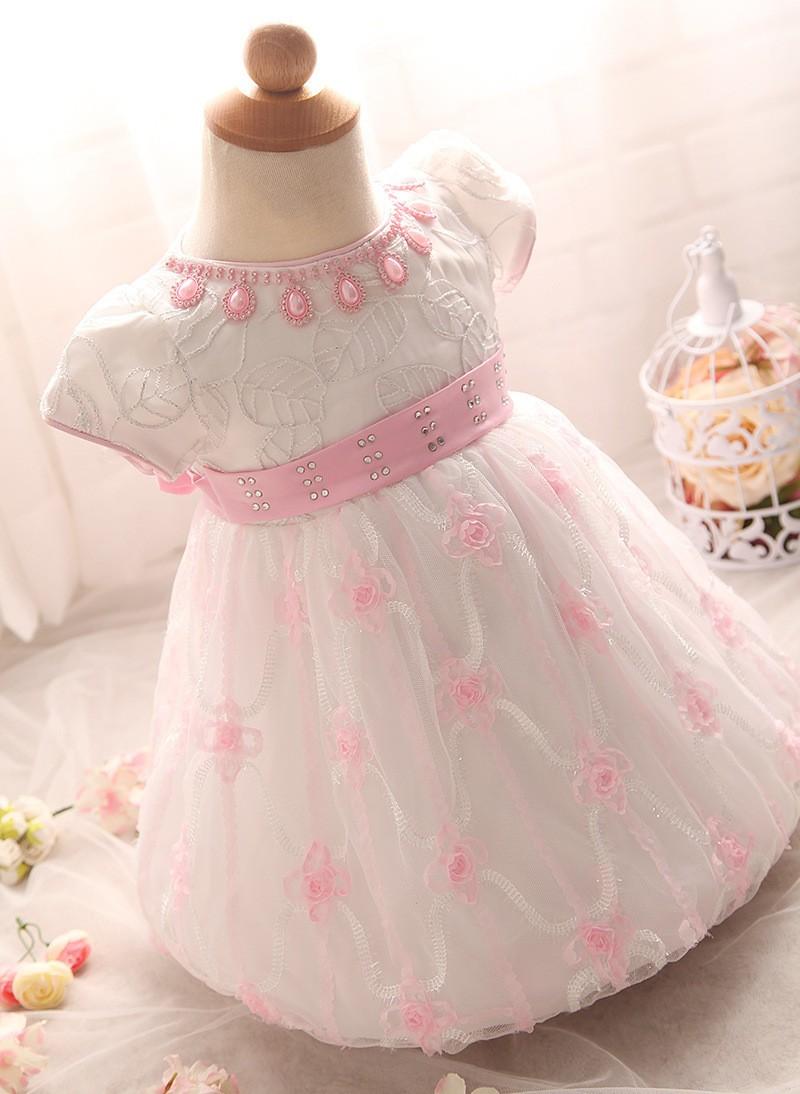 Newborn Birthday Dress (6)