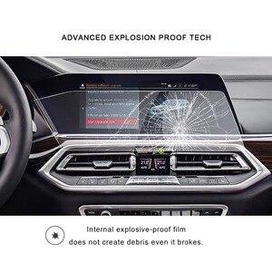 Image 3 - Ruiya 車用 X5 G05/X7 G07 2019 2020 12.3 インチ左ラダーナビゲーションセンタータッチディスプレイ画面の自動インテリア