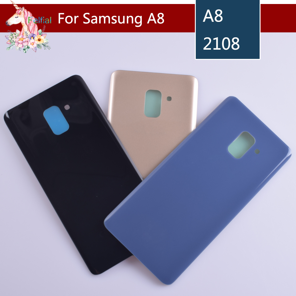 For Samsung Galaxy A8 A530 A530F A8 plus A730 A730F 2018 Housing Battery Cover Door Rear