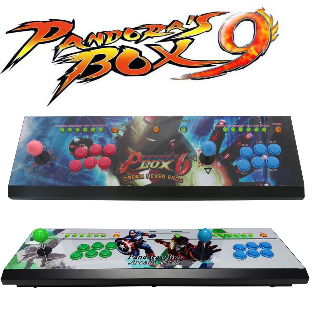2019 Newest HDMI and VGA jamma arcade game console with pandora box 9 multi game board 1500 in 1 game console in Coin Operated Games from Sports Entertainment