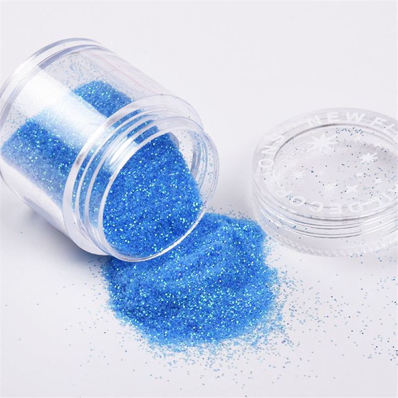Shiny Nail Sequins Glitter Tips UV Gel Nail Art Decoration Colorful Nail Glitter Powder Dust 3d DIY For Nail Art Decorations