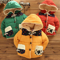 2017 winter new style thick coat boy child children cute fashion thick cotton cardigan jacket pocket parkas