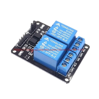 цена Free Shipping  2-channel New 2 channel relay module relay expansion board 5V low level triggered 2-way relay module онлайн в 2017 году