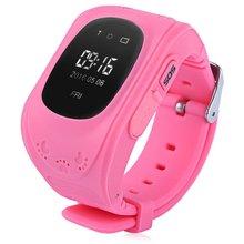 Ssdfly gorąca Q50 smart Watch dla dzieci zegarek dla dzieci GSM GPRS LBS lokalizator GPS zegarek smart anti-lost zabezpieczającym przed dziećmi dla iOS Android tanie tanio Passometer Rosyjski Portugalski Hiszpański Angielski Francuski Na nadgarstku Brak 128 MB 300-450 mAh Życie Wodoodporna