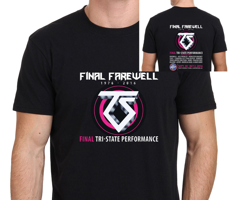 Shirt Shop Short Sleeve Clothing Twisted Sister Final Farewell Short Crew Neck T Shirts For Men