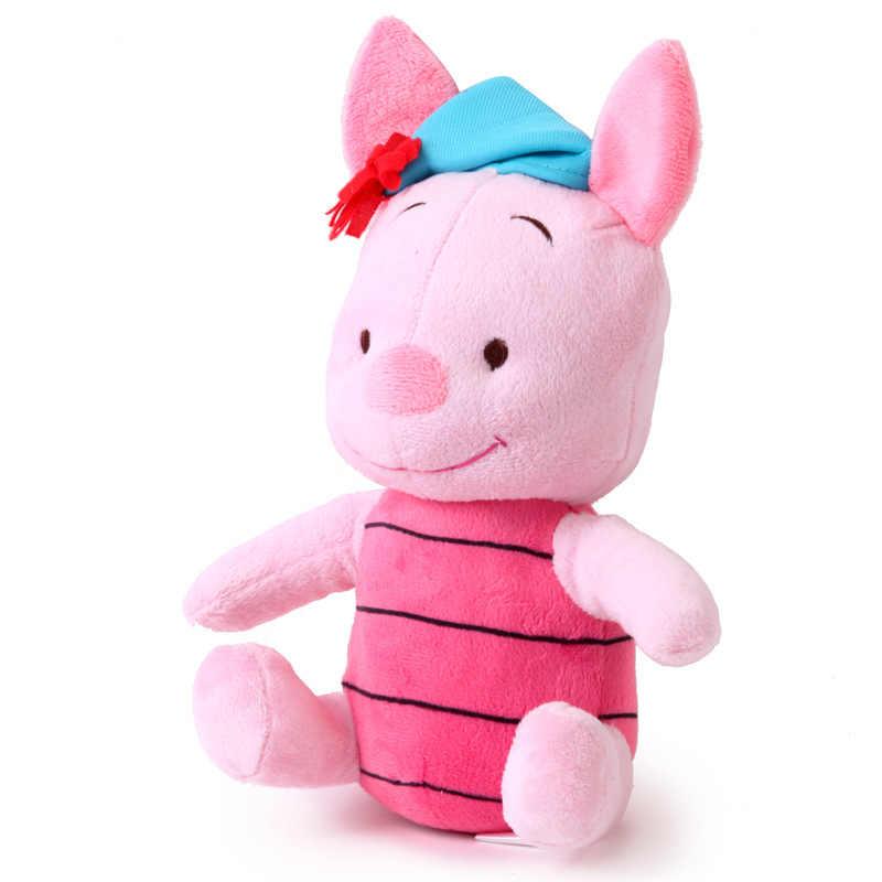 Дисней Винни-Пух музыкальный Тигр поросенок звук и свет плюшевая фигурка кукол 21 см мягкие плюшевые игрушки подарки Детские Рождественские подарки